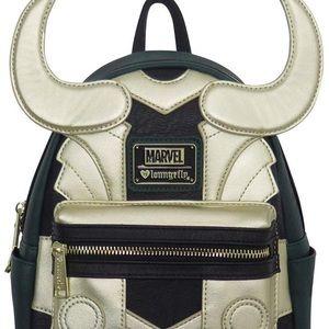 Avengers Travel Rucksack Marvel Loki Loungefly Backpacks Loki Shoulder Bags